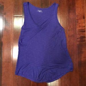 Calvin Klein Purple Sleeveless Tank Top Size Small